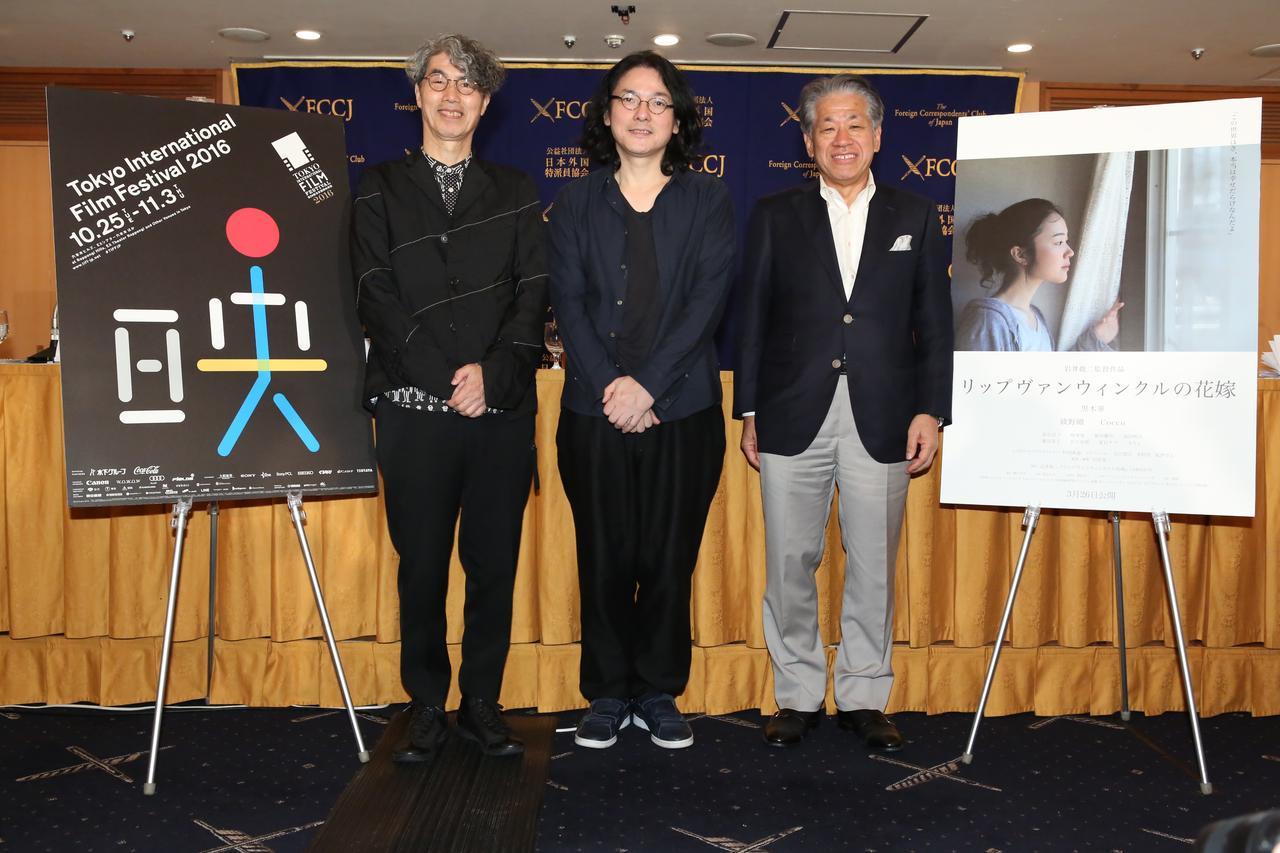 画像: 岩井俊二監督『スワロウテイル』『リップヴァンウィンクルの花嫁』などの特集上映に対し外国特派員協会で語る--[東京国際映画祭]