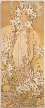 画像: 《四つの花「ユリ」》 1897年 堺市