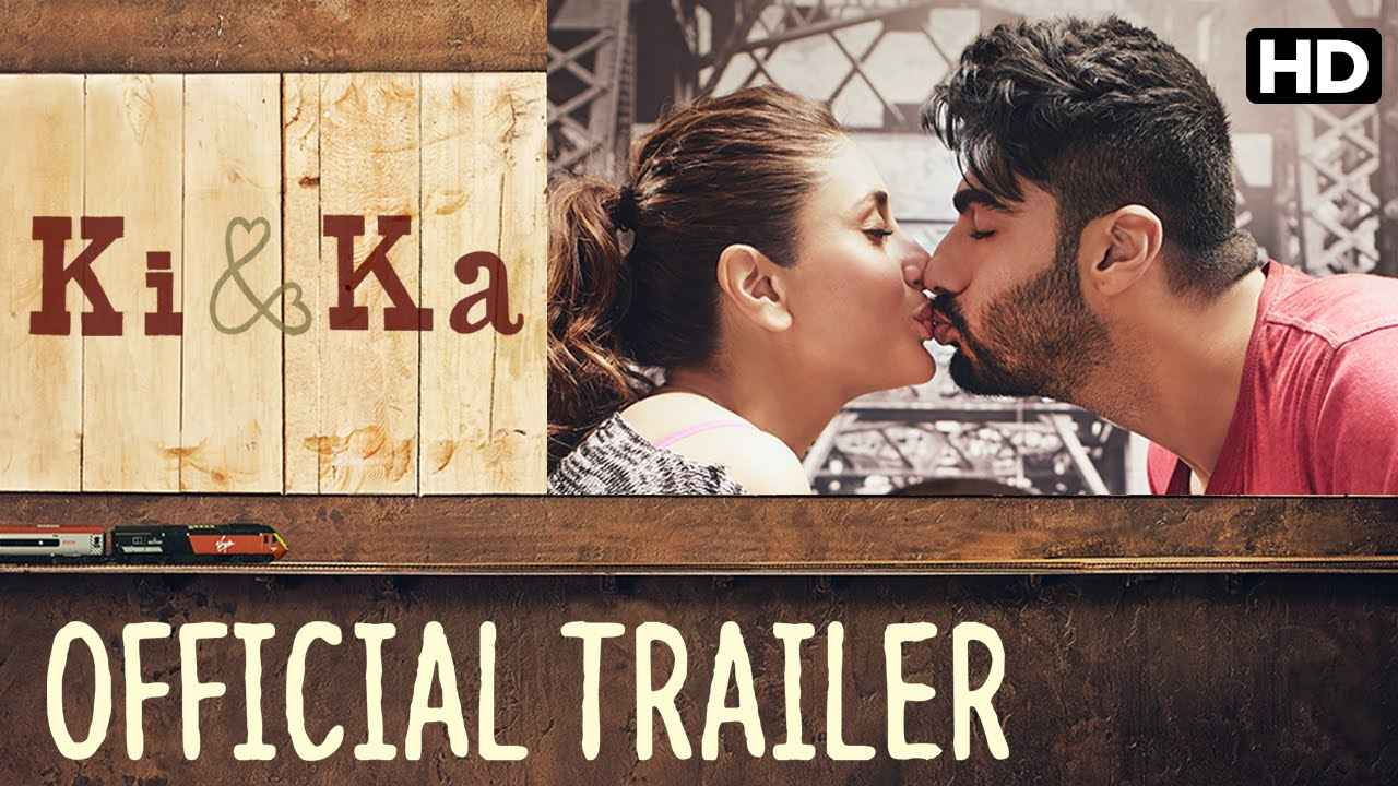 画像: Ki & Ka Official Trailer with English Subtitle | Kareena Kapoor, Arjun Kapoor | R. Balki youtu.be