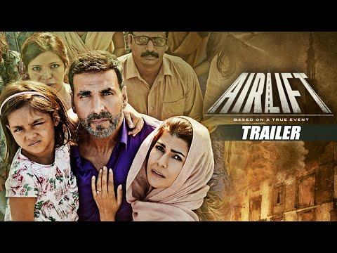 画像: AIRLIFT THEATRICAL TRAILER | Akshay Kumar, Nimrat Kaur | Releasing on 22nd January, 2016 |T-Series - YouTube youtu.be