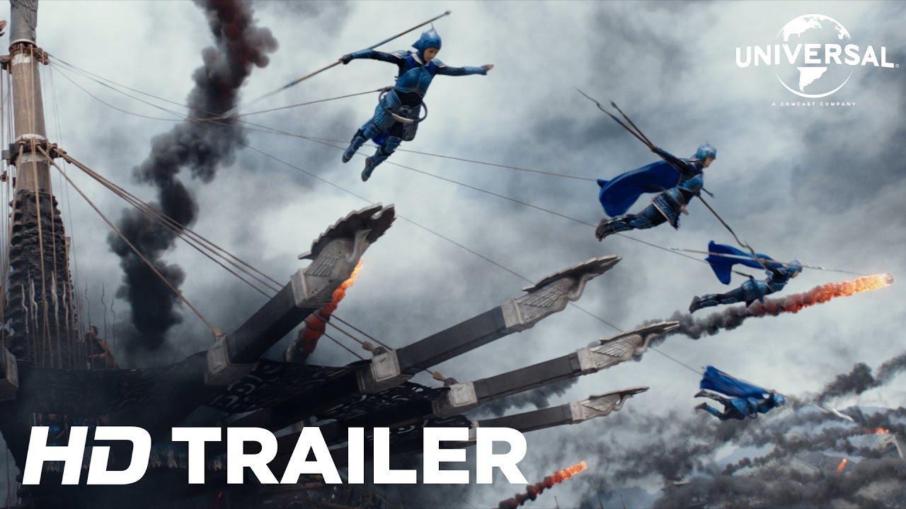 画像: The Great Wall - Official Trailer 2 (Universal Pictures) HD youtu.be