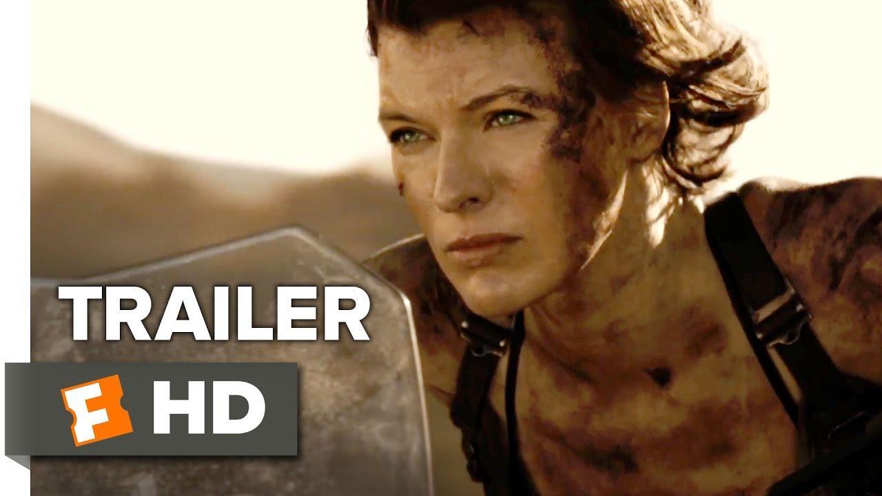 画像: Resident Evil: The Final Chapter Official Trailer 2 (2017) - Milla Jovovich Movie youtu.be