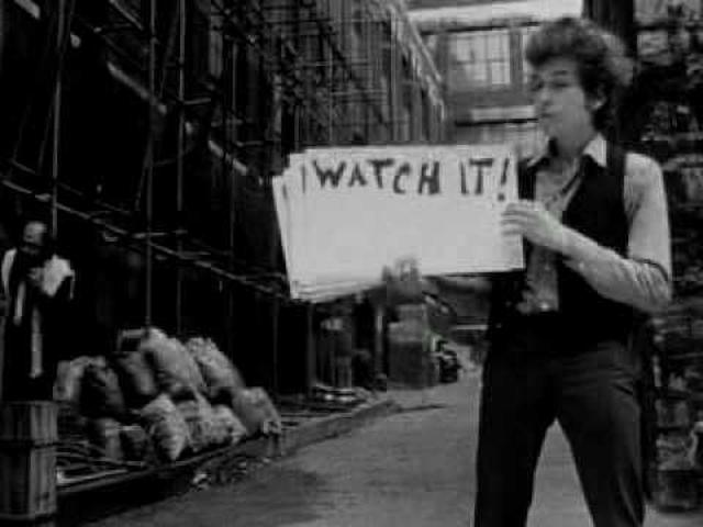 画像: Bob Dylan: Dont Look Back - Clip youtu.be