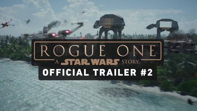 画像: Rogue One: A Star Wars Story Trailer #2 (Official) youtu.be