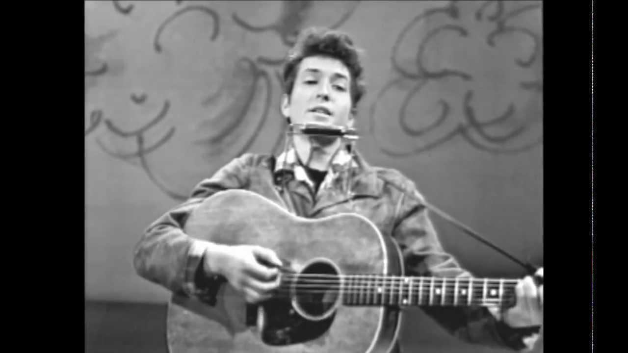 画像: Blowing In The Wind (Live On TV, March 1963) youtu.be