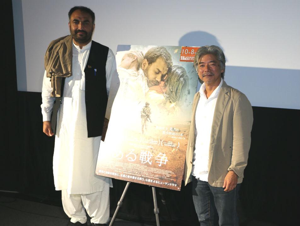 画像: 谷山博史氏(JVC代表)、 サビルラ・メムラワル氏(JVCアフガニスタン事業 副代表)