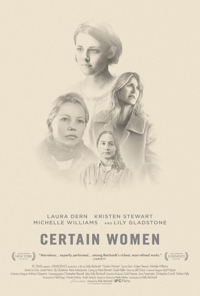 画像: http://www.comingsoon.net/movies/trailers/763445-certain-women-trailer-and-poster-with-kristen-stewart #/slide/1