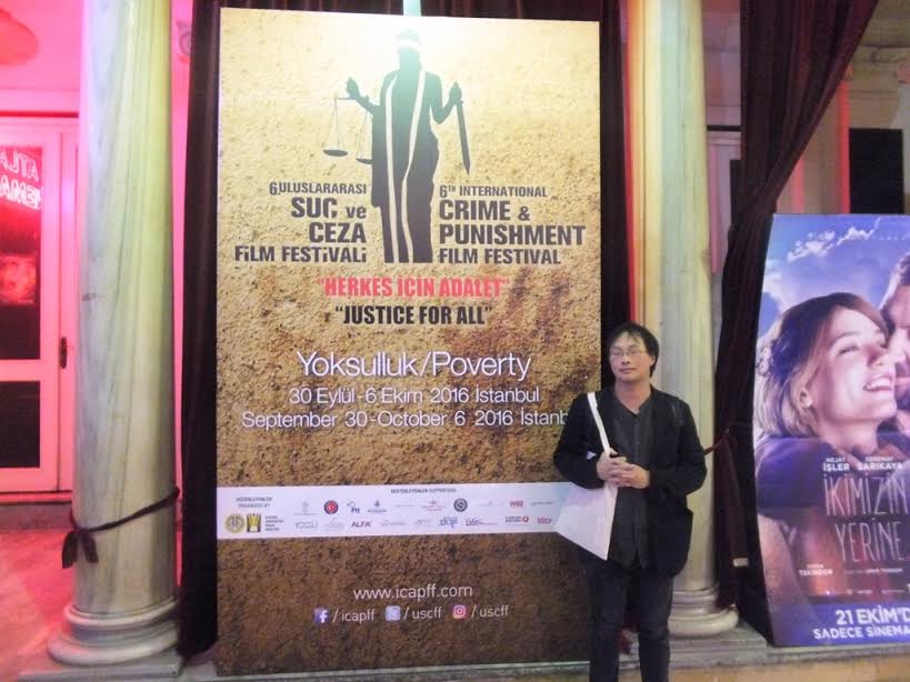 画像: トルコ・イスタンブールで開催されている第6回International Crime and Punishment Film Festival(罪と罰国際映画祭)の、10月1日の上映会に深田監督が参加