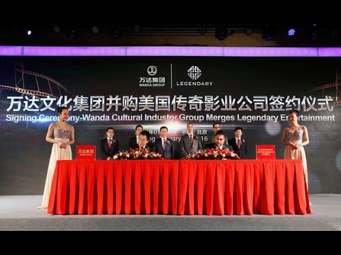 画像: Chinese Wanda Conglomerates U.S. Legendary Entertainment for $3.5 Billion youtu.be