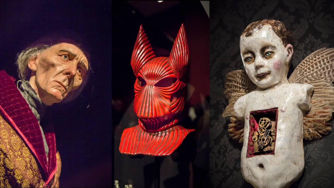 画像: Guillermo Del Toro - At Home with Monster's youtu.be