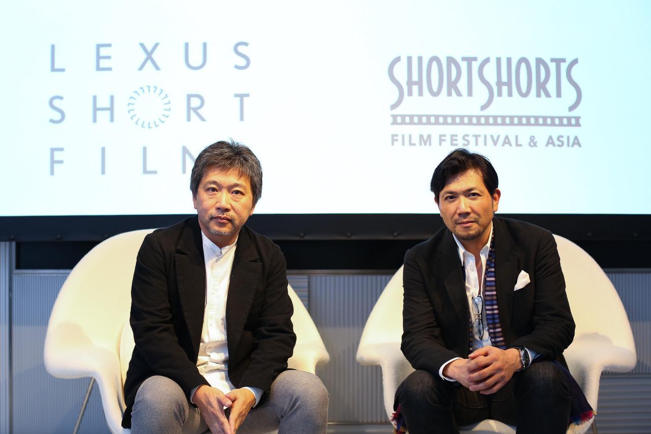 画像: LEXUS SHORT FILMS × Short Shorts Film Festival & Asia 是枝裕和監督と考える映画術「Road to the World」開催レポート