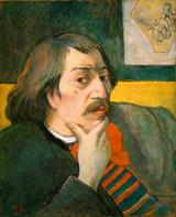 画像: 「自画像」ポール・ゴーギャン 1893年頃 Gift of Robert H. Tannahill