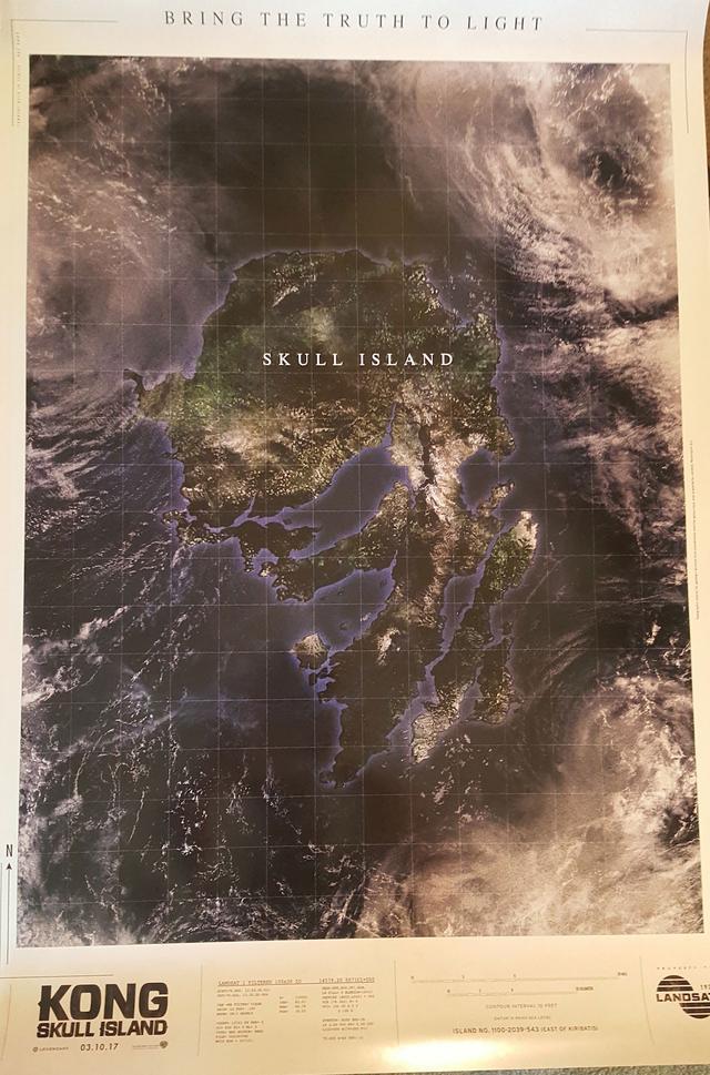 画像2: http://www.comingsoon.net/movies/news/704893-awaken-the-king-in-the-kong-skull-island-comic-con-poster #/slide/2