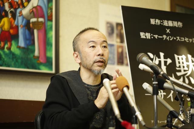 画像: 俳優としての塚本晋也が遠藤周作、スコセッシ監督そして映画『沈黙-サイレンス-』を熱く語った---日本二十六聖人記念館の記者会見 - シネフィル - 映画好きによる映画好きのためのWebマガジン