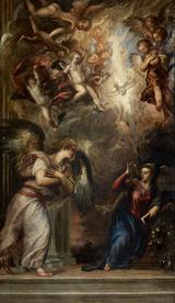 画像: ティツィアーノ・ヴェチェッリオ《受胎告知》油彩/カンヴァス  ヴェネツィア、サン・サルヴァドール聖堂