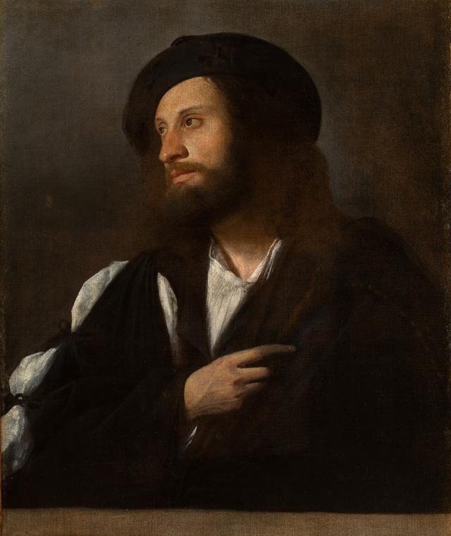 画像: カリアーニ(本名ジョヴァンニ・ブージ)《男の肖像》油彩/カンヴァス