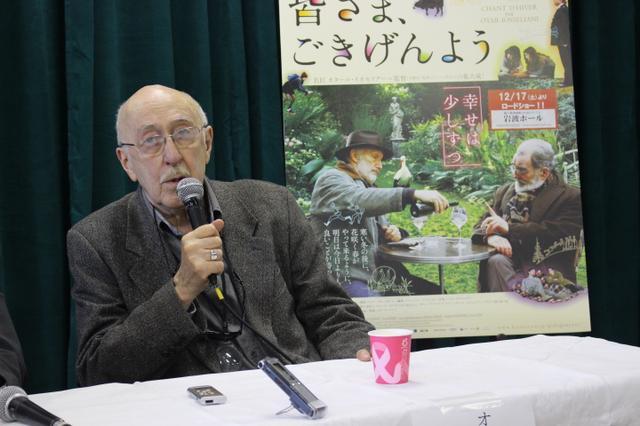 """画像: 名匠イオセリアーニ監督が語った、""""無秩序で生き生きしていて、素晴らしかった東京は変わった--でも...まだ日本の観客を信じている!"""" - シネフィル - 映画好きによる映画好きのためのWebマガジン"""
