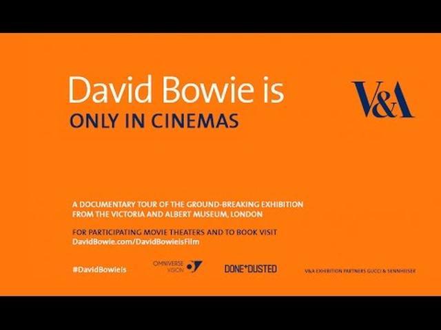 画像: David Bowie is TRAILER - In Cinemas Worldwide from November youtu.be