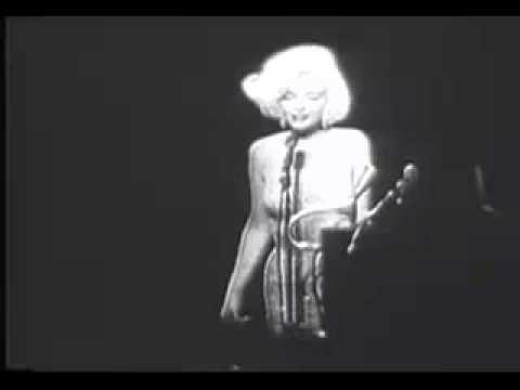 画像: Marilyn Monroe Happy Birthday youtu.be
