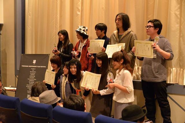 画像: 横濱インディペンデント・フィルム・フェスティバル受賞者 写真