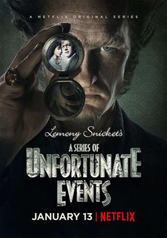画像: Netflix revealed the official poster for Lemon Sniket's A Series of Unfortunate Events.