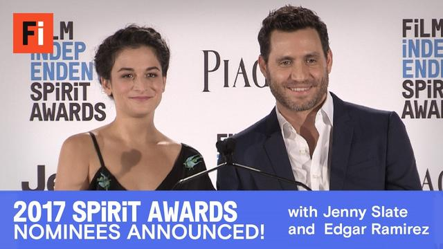 画像: 2017 Film Independent Spirit Awards nominees announced | Jenny Slate and Edgar Ramirez youtu.be