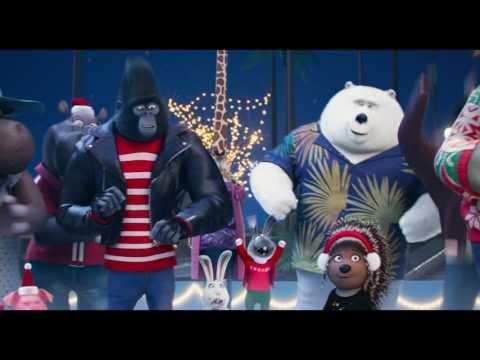 画像: 『SING/シング』クリスマス特別映像 <本映像に出てくる楽曲>「そりすべり(原題:Sleigh Ride)」「グルーヴ・イズ・イン・ザ・ハート」 トリー・ケリー youtu.be