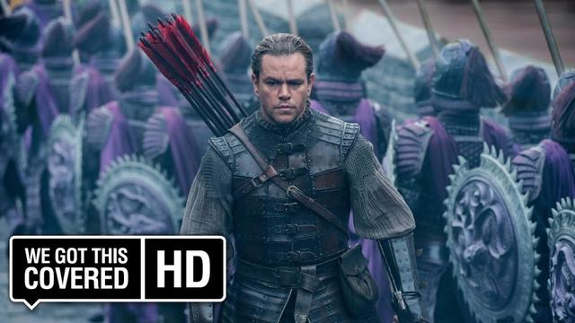 画像: The Great Wall International Trailer [HD] Matt Damon, Pedro Pascal, Willem Dafoe youtu.be