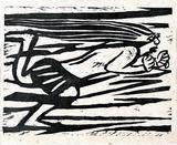 画像: 《華厳譜》「風神の柵」昭和11(1936)年 棟方志功記念館蔵