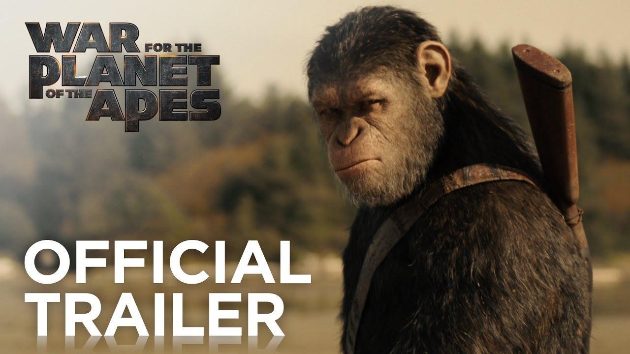 画像: War for the Planet of the Apes   Official Trailer [HD]   20th Century FOX youtu.be