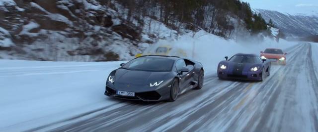 画像: 真冬のアイスバーンで常識超えのデッドヒート!『クラッシュ・ゾーン』