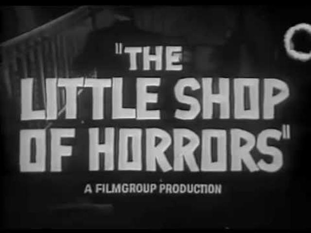 画像: The Little Shop of Horrors (Trailer 1960) youtu.be