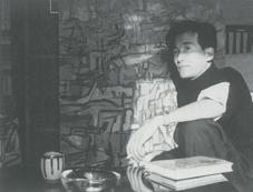 画像: 山田正亮ポートレート 1956 年