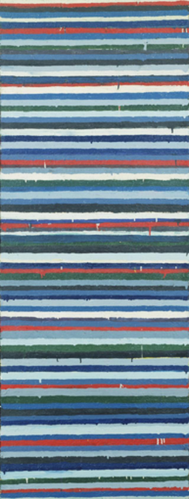 画像: 《Work C.73》1960年 油彩・キャンバス 180×68㎝ 東京国立近代美術館蔵
