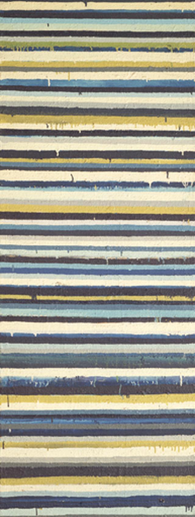 画像: 《Work C.77》1960年 油彩・キャンバス 180×68㎝ 東京国立近代美術館蔵