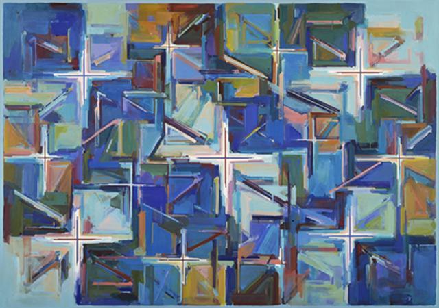 画像: 《Work F.116》1992年 油彩・キャンバス 182×259㎝