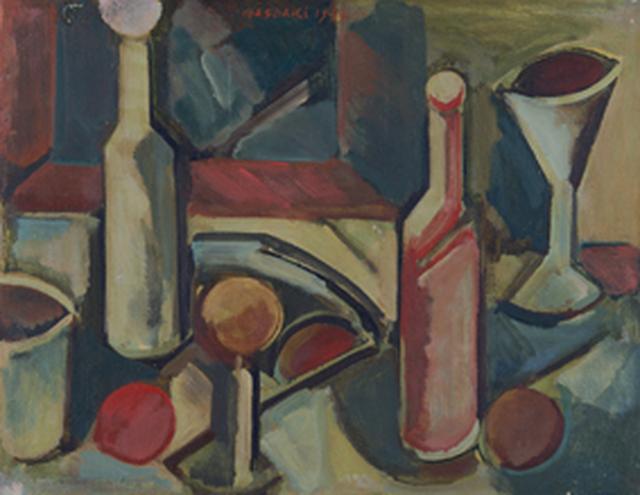 画像: 《Still Life no.64》1953年 油彩・キャンバス 41×53㎝