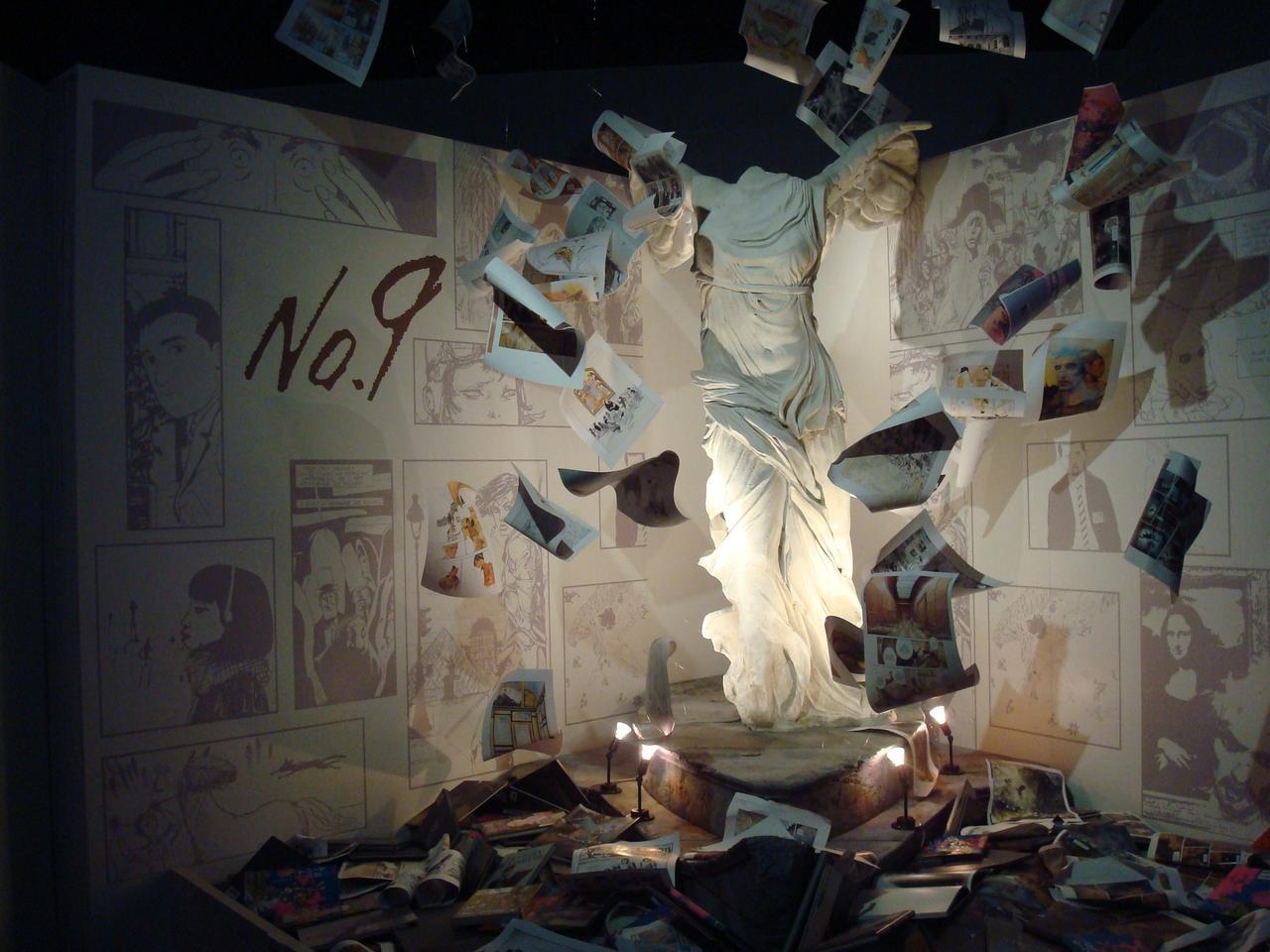 画像: 「サモトラケのニケ」のレプリカ