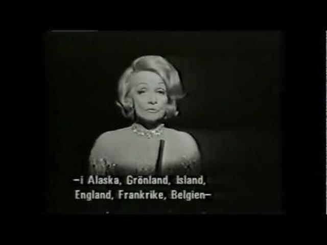 画像: Marlene Dietrich Lili Marleen(ENGLISH) youtu.be
