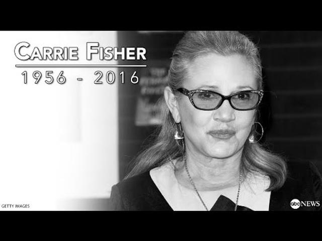 画像: Carrie Fisher Dead at 60 | Archival Interview on Star Wars, Debbie Reynolds youtu.be