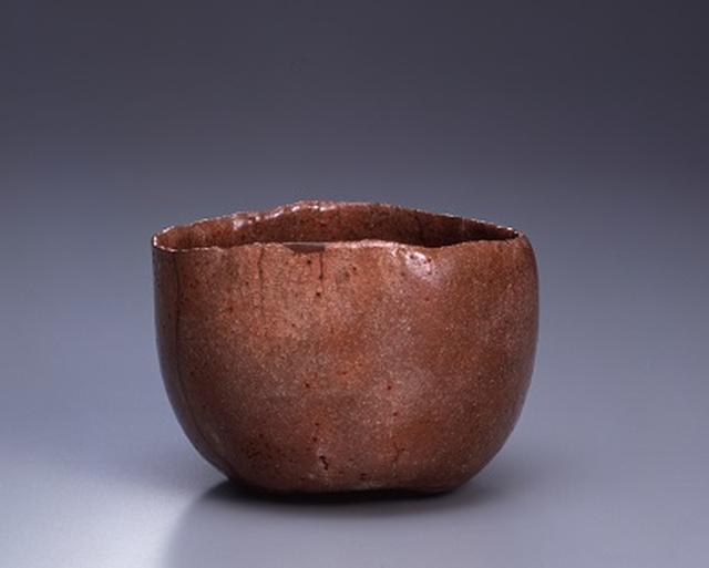 画像: 本阿弥光悦 赤樂茶碗 銘 乙御前 重要文化財 江戸時代(十七世紀) 個人蔵