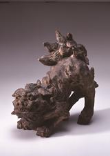 画像: 初代 長次郎 二彩獅子 重要文化財 天正2年(1574) 樂美術館蔵