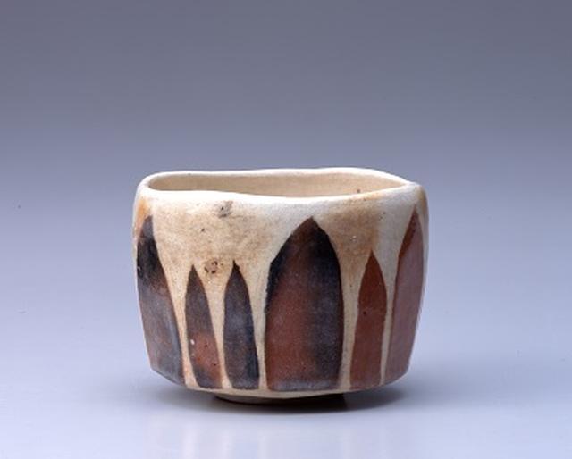 画像: 十四代 覚入 赤樂茶碗 銘 杉木立 昭和47年(1972) 個人蔵