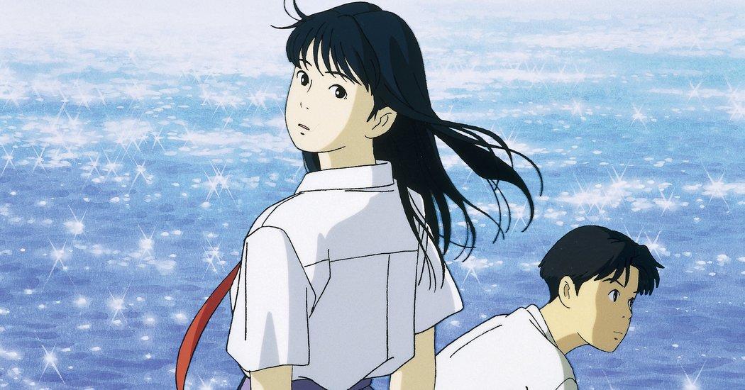 画像1: Review: 'Ocean Waves,' a Tale of Young Love, Ghibli Style www.nytimes.com