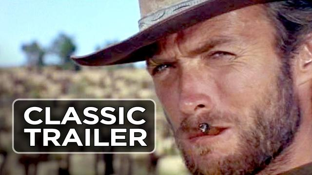 画像: The Good, the Bad, and the Ugly Official Trailer #1 - Clint Eastwood Movie (1966) HD youtu.be