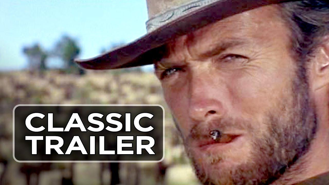 画像: The Good, the Bad, and the Ugly Official Trailer #1 - Clint Eastwood Movie (1966) HD youtu.be
