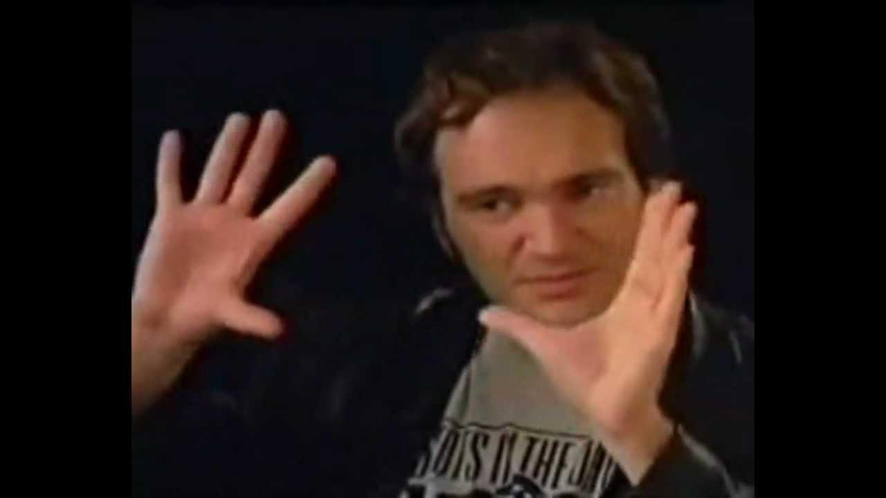 画像: Quentin Tarantino on Once Upon A Time In America (1994) youtu.be