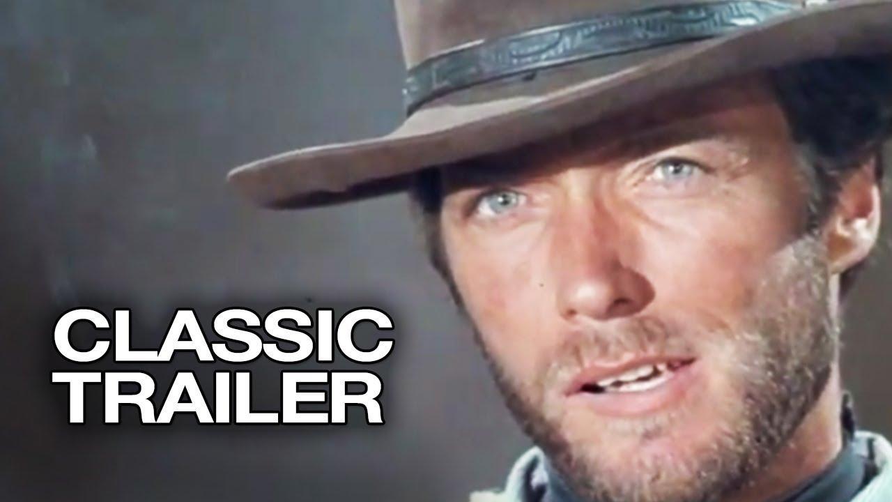 画像: For a Few Dollars More Official Trailer #1 - Clint Eastwood Movie (1965) HD youtu.be