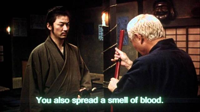 画像: Zatoichi 座頭市 (2003) Artificial Eye Trailer HQ youtu.be