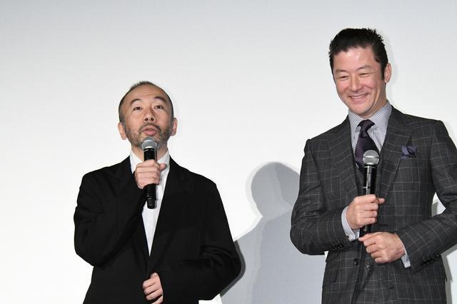 画像: 塚本晋也と浅野忠信
